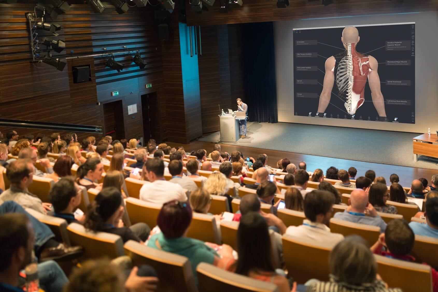 3D Anatomy in universities